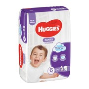 Huggies Pants 6 (15 − 25 kg), pieluchomajtki, 30 szt.