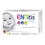 ENTitis Baby, smak truskawkowy, proszek w saszetkach, 30 szt.