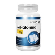 Melatonina 1 mg, kapsułki, 90 szt.