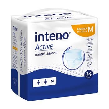 Inteno Active Majtki chłonne, M, 14 szt.