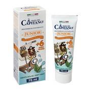 Pasta del Capitano, pasta do zębów dla dzieci, miętowa, od 6 lat, 75 ml
