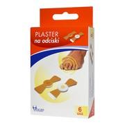 Plaster na odciski, 400 mg/g (400 mg/plaster), plaster leczniczy, 6 szt.