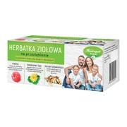 Herbatka ziołowa na przeziębienie, zioła do zaparzania w saszetkach, 20 szt.