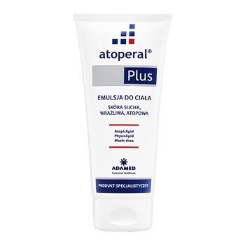 Atoperal Plus, emulsja do ciała, skóra sucha, wrażliwa, atopowa, 200 ml