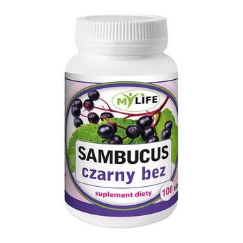Sambucus czarny bez , tabletki 100 szt