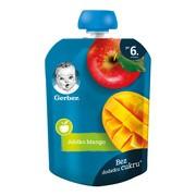 Gerber Deserek mus jabłka, mango, 6 m+, 90 g