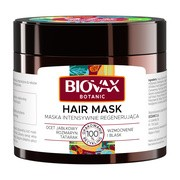 Biovax Botanic, maska intensywnie regenerująca, 20ml