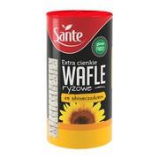 SANTE Wafle ryżowe za słonecznikem, extra cienkie, 110 g