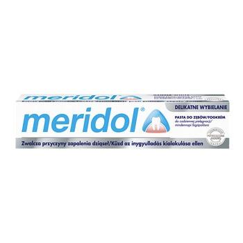 Meridol, pasta do zębów, delikatne wybielanie,  75 ml