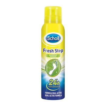 Scholl Fresh Step, dezodorant do stóp, 150 ml