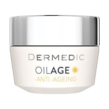 Dermedic Oilage, odżywczy krem na dzień przywracający gęstość skóry, 50 g