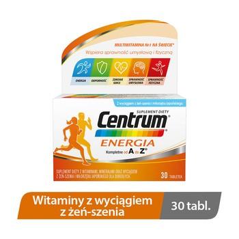 Centrum Energia, tabletki, 30 szt.