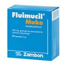 Fluimucil Muko, 200 mg, granulat w saszetkach, 20 szt.