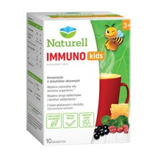 Naturell Immuno kids, proszek w saszetkach, 10 g, 10 szt.