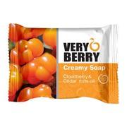 Very Berry, kremowe mydło w kostce, Cloudberry & Cedar nuts oil, 100 g