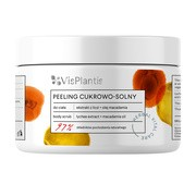 Vis Plantis Herbal Vital Care, peeling cukrowo-solny, ekstrakt z liczi + olej macadamia, 200 ml