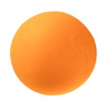 Qmed, piłeczka żelowa do ćwiczeń, pomarańczowa – twarda, 1 szt.