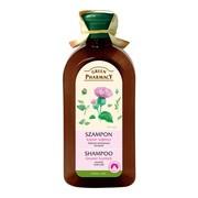 Green Pharmacy, szampon do każdego rodzju włosów, łopian większy, 350 ml