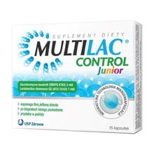 Multilac Control Junior, kapsułki, 15 szt.