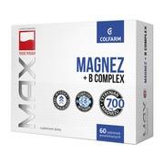 Magnez + B Complex, tabletki powlekane, 60 szt.