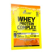 Olimp Whey Protein Complex 100%, proszek, smak słony karmel, 35 g