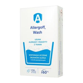 Allergoff Wash, dodatek do prania w niskich temperaturach, 6 x 20 ml