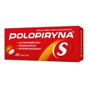 Polopiryna S, 300 mg, tabletki, 20 szt.