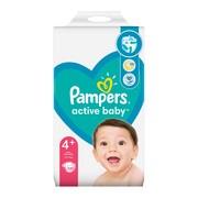Pampers Active Baby 4+ (10−15 kg), pieluszki jednorazowe, 120 szt.