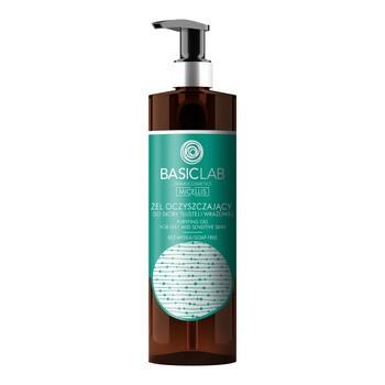 BasicLab Micellis, żel oczyszczający do skóry tłustej i wrażliwej, 300 ml