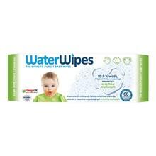 WaterWipes, chusteczki nasączane czystą wodą, Soapberry z dodatkiem wyciągu z orzechów mydlanych, 60szt