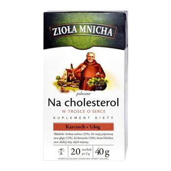 Zioła Mnicha polecane na cholesterol, fix, 2 g, 20 szt.