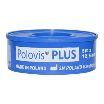 Polovis Plus, przylepiec, 5 m x 1,25 cm, 1 szt.