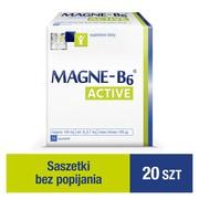 Magne-B6 Active, 34 g, granulat w saszetkach, 20 szt.