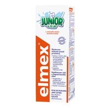 Elmex Junior, płyn do płukania jamy ustnej z aminofluorkiem, dla dzieci w wieku 6-12 lat, 400 ml