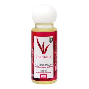 Orientana, olejek do twarzy, róża japońska i szafran, 55 ml