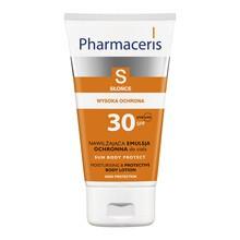 Pharmaceris S, nawilżająca emulsja ochronna do ciała, SPF 30, 150 ml