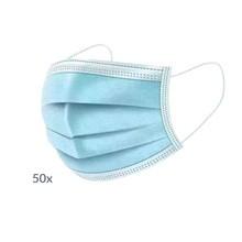 Maska medyczna, 3-warstwowa z gumkami, 50 szt.