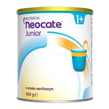 Neocate Junior, preparat mlekozastępczy w proszku o smaku waniliowym, 400 g