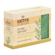 Sattva, mydło glicerynowe, drzewo herbaciane, 125 g