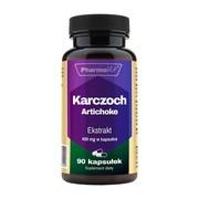 Pharmovit Karczoch Artichoke Ekstrakt 400 mg, kapsułki, 90 szt.