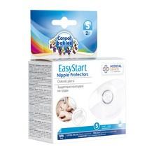 Canpol EasyStart, osłonki piersi, silikonowe, rozmiar S (małe), 2 szt.