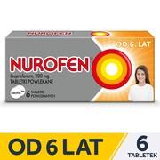 Nurofen, 200 mg, tabletki powlekane, 6 szt.