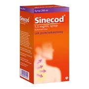Sinecod, 1,5 mg/ml, syrop, 200 ml