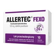 Allertec Fexo, 120 mg, tabletki powlekane, 10 szt.