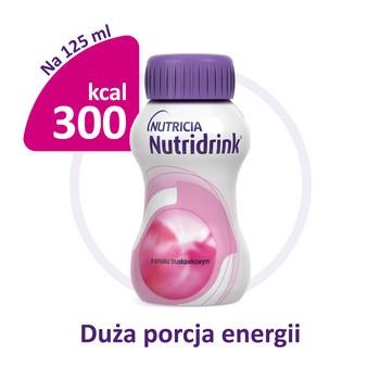 Zestaw 6x Nutridrink, smak truskawkowy, płyn, 4 x 125 ml