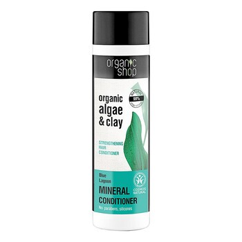 Organic Shop, odżywka do włosów, wzmacniająca, błękitna laguna, 280 ml