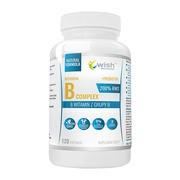 Wish Witamina B Complex 200% + prebiotyk, kapsułki, 120 szt.