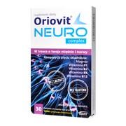 Oriovit Neuro Complex, tabletki do ssania, gryzienia, 30 szt.
