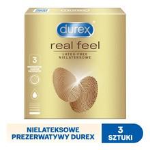 Durex RealFeel, prezerwatywy, 3 szt.