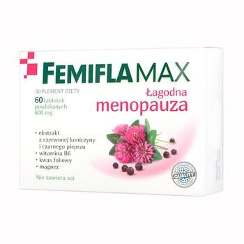 Femiflamax, tabletki powlekane, 60 szt.